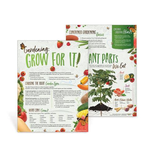 Gardening: Grow for It!  Handouts