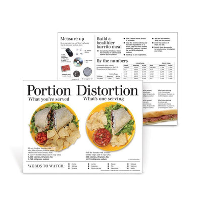 Portion Distortion Burrito Handouts