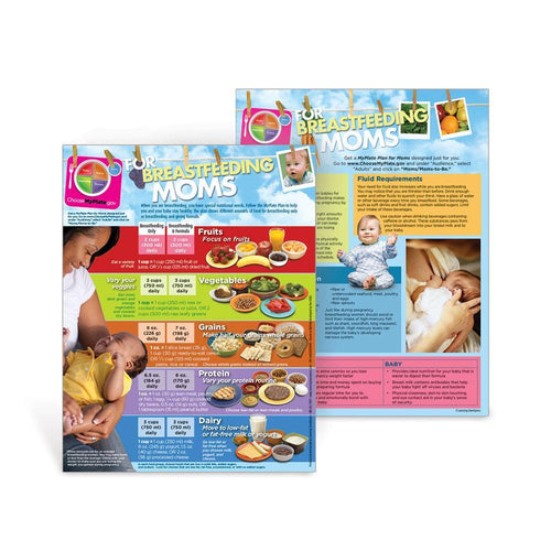 MyPlate Breastfeeding Nutrition Handouts