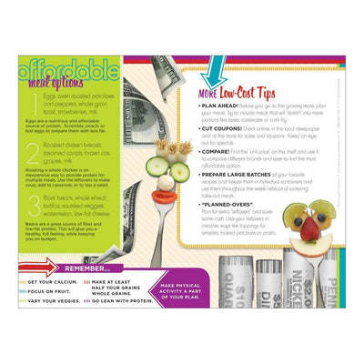 MyPlate Eating Healthy on a Budget Handout  Back