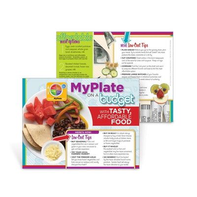 MyPlate Eating Healthy on a Budget Handout