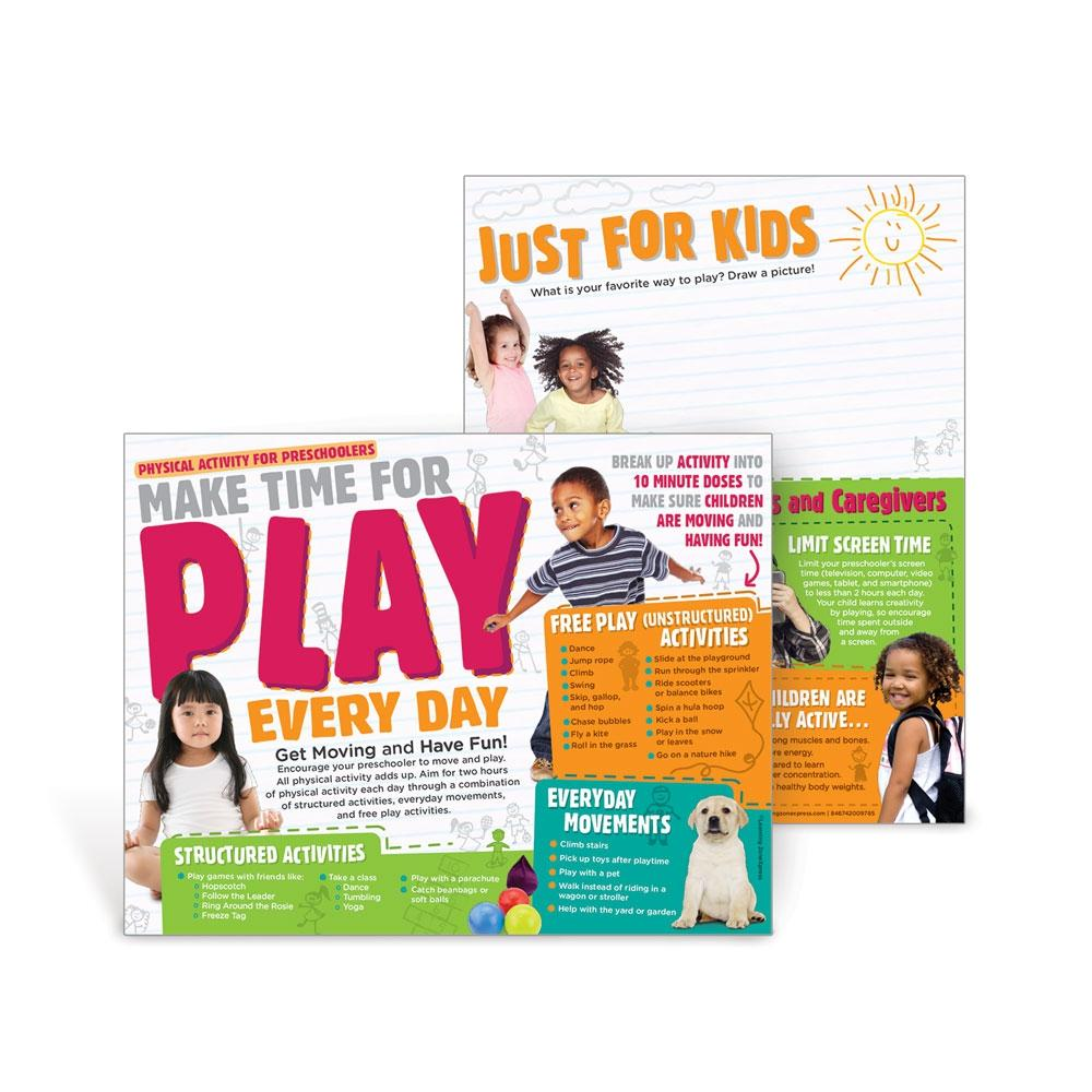 Make Time for Play Preschool Physical Activity Handouts
