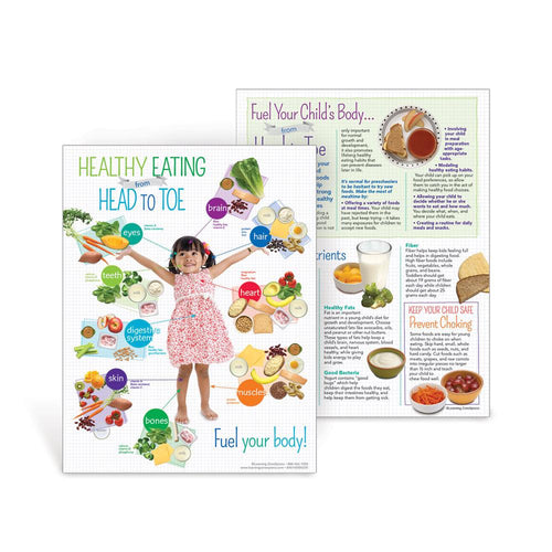 Preschool Healthy Eating from Head to Toe Handouts