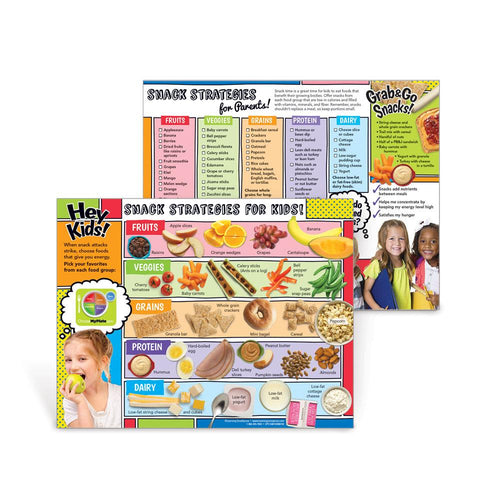 Snack Strategies Handouts: Healthy Snacks for Kids