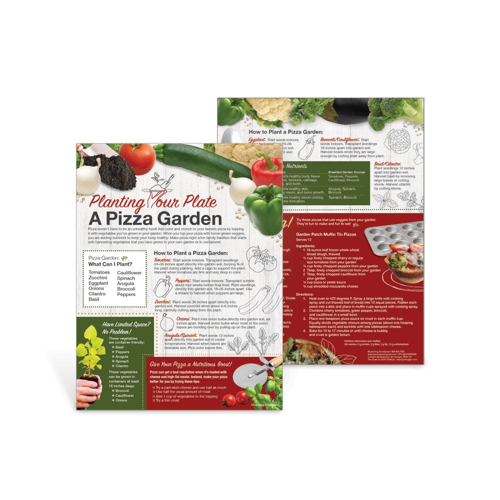Planting Your Plate: A Pizza Garden Handouts