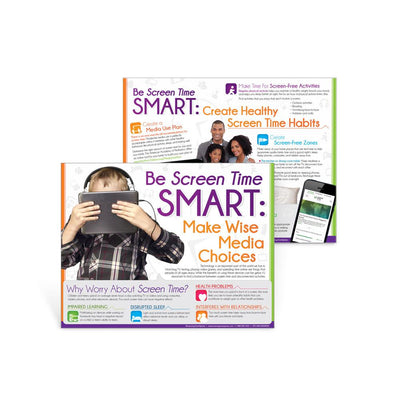 Be Screen Time Smart Handout
