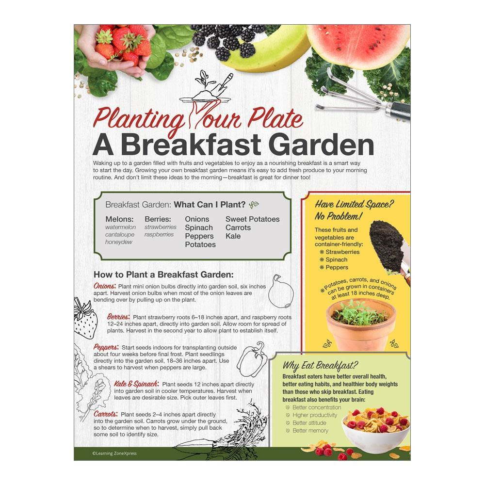 Planting Your Plate: A Breakfast Garden Handouts