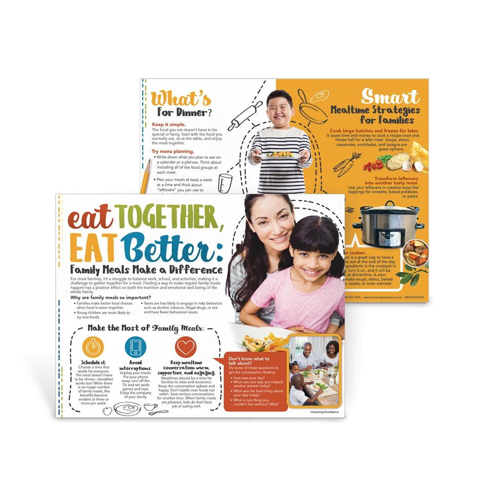 Eat Together, Eat Better Family Meals Handouts