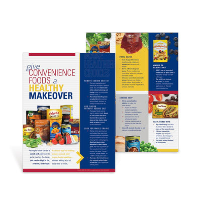 Give Convenience Foods a Healthy Makeover Tablet