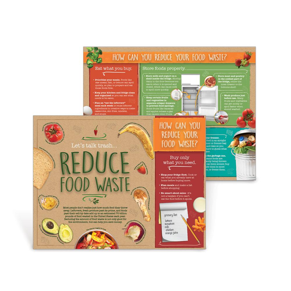 Reduce Food Waste Handouts