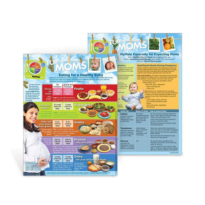 MyPlate Expecting Moms Handout for Pregnancy