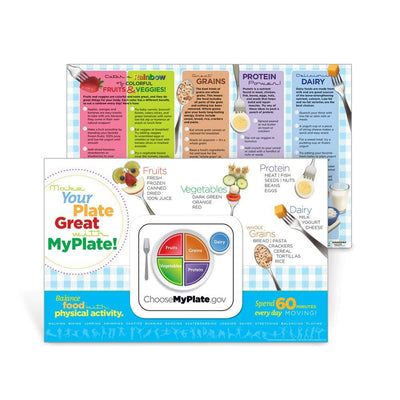 Make Your Plate Great Placemat Handouts