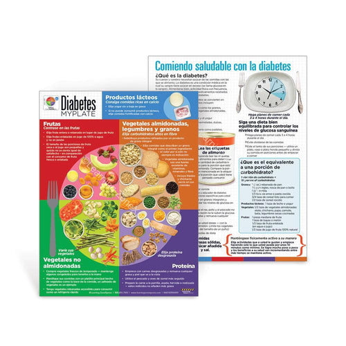 Diabetes MyPlate Spanish Handouts
