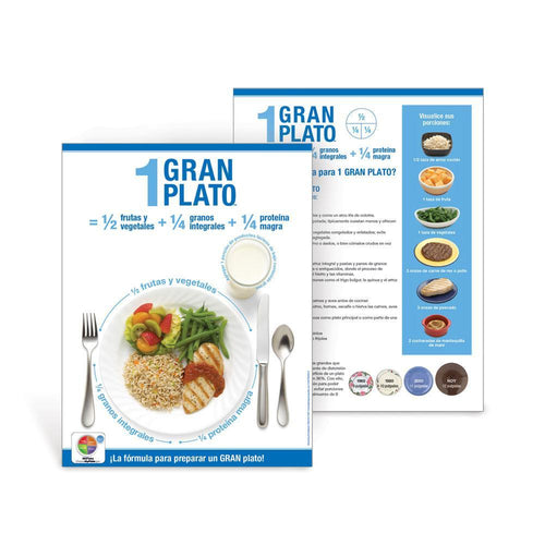 1 Great Plate® Spanish Handouts