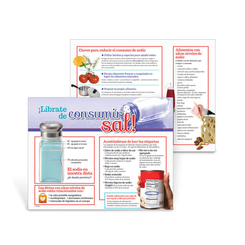 Shake the Salt Habit Spanish Handouts