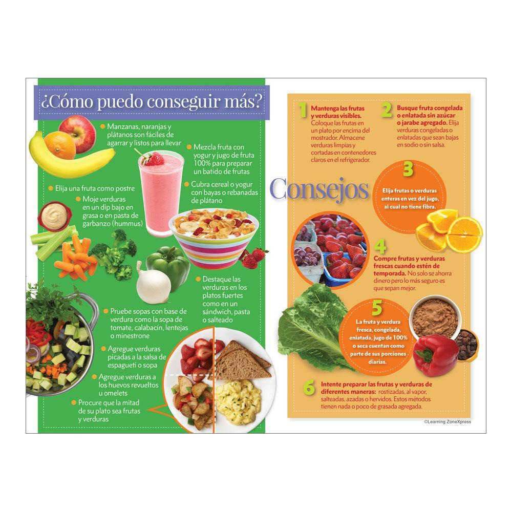 Why Eat Fruits and Veggies? Spanish Handouts