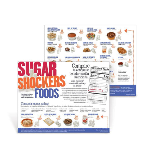 Sugar Shockers® Foods Spanish Handouts