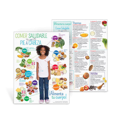 Kids Healthy Eating from Head to Toe Spanish