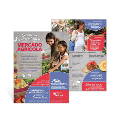Shop Smart at Your Farmers Market Spanish Handouts