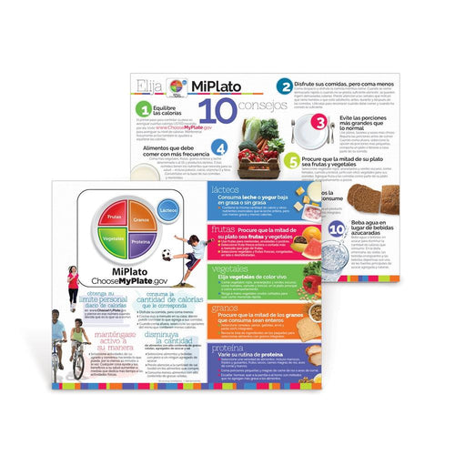 Choose MyPlate Spanish Handouts