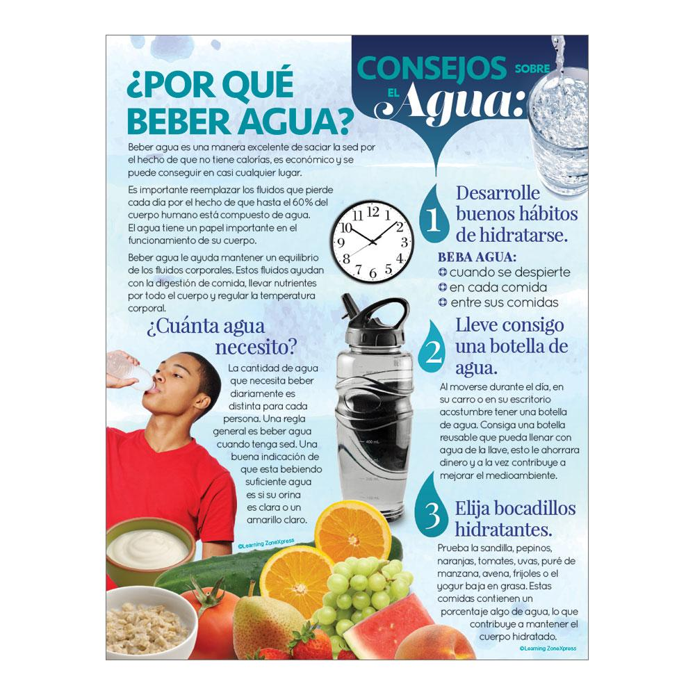 Drink Water Spanish Handouts