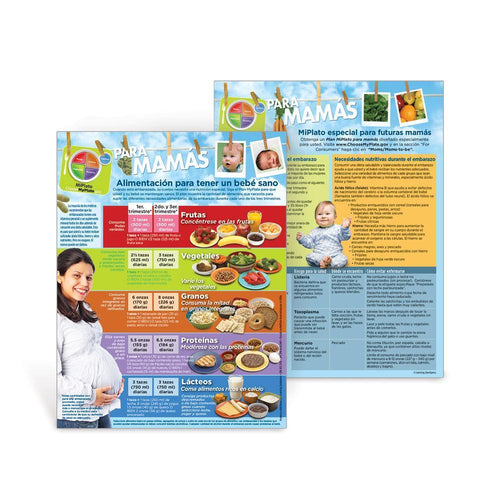 MyPlate for Expecting Moms Spanish Handouts