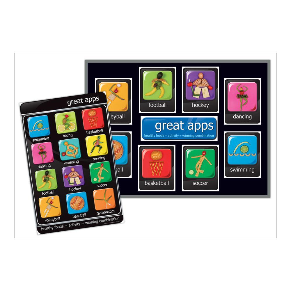 Great Apps Poster and Bulletin Board