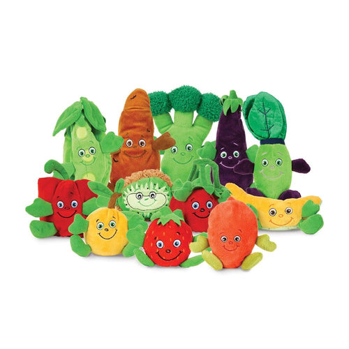 Garden Heroes Fruit & Vegetables Plush Characters