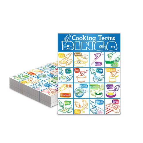 Cooking Terms Bingo