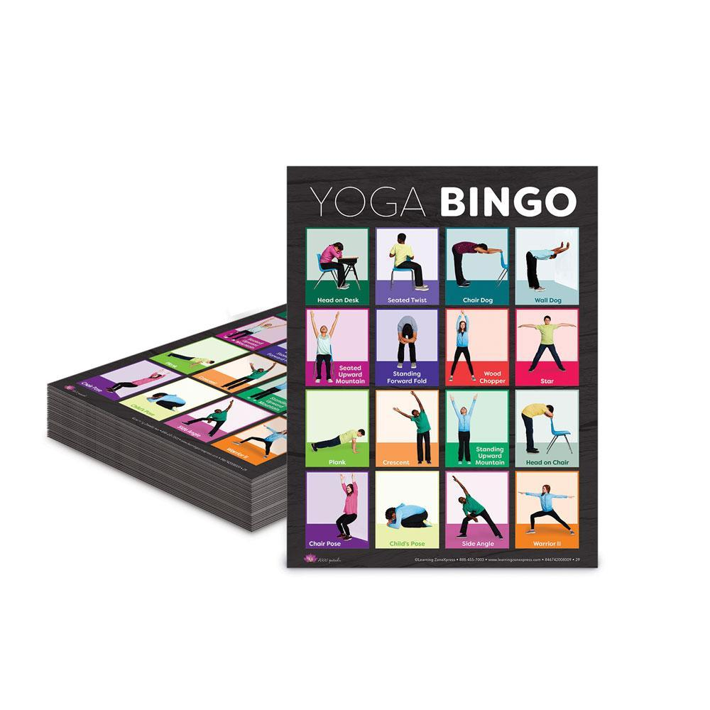 Yoga Bingo Game