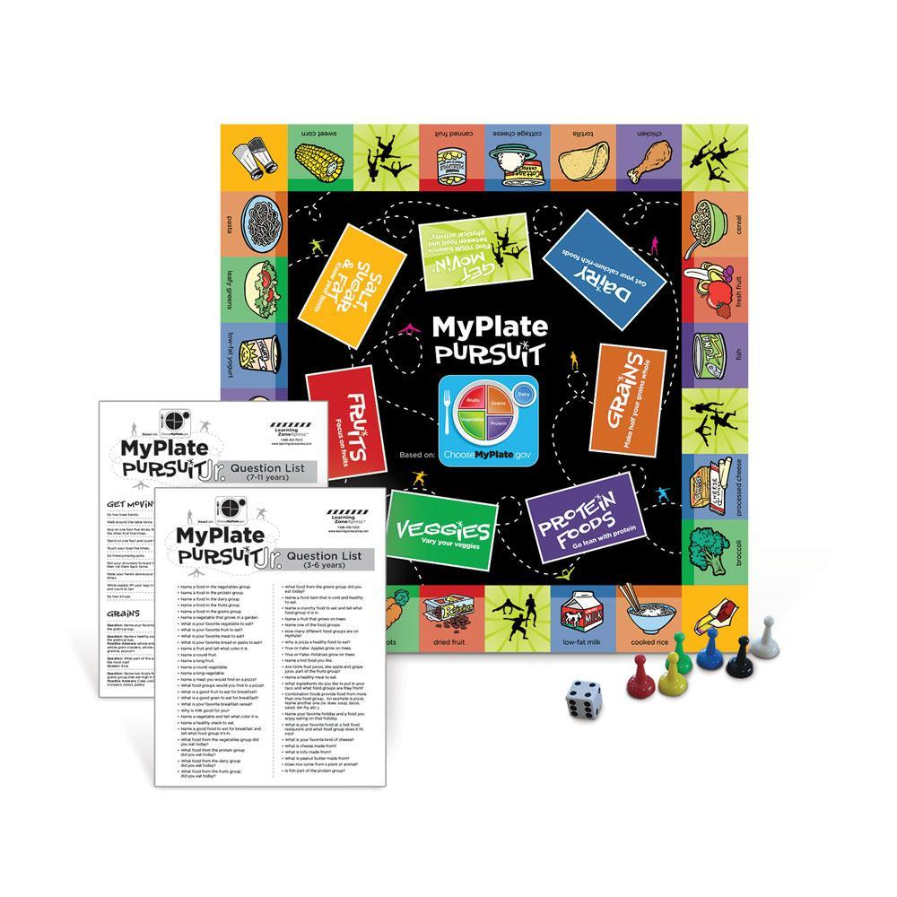 MyPlate Pursuit JR. Board Game