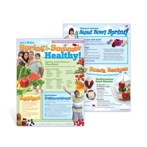 Let's Make Spring & Summer Healthy Newsletter Handouts