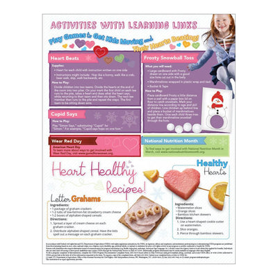 Plan a Heart Healthy Valentine's Party Handouts