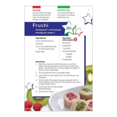 Frushi | Fruit Rolled in white rice recipe