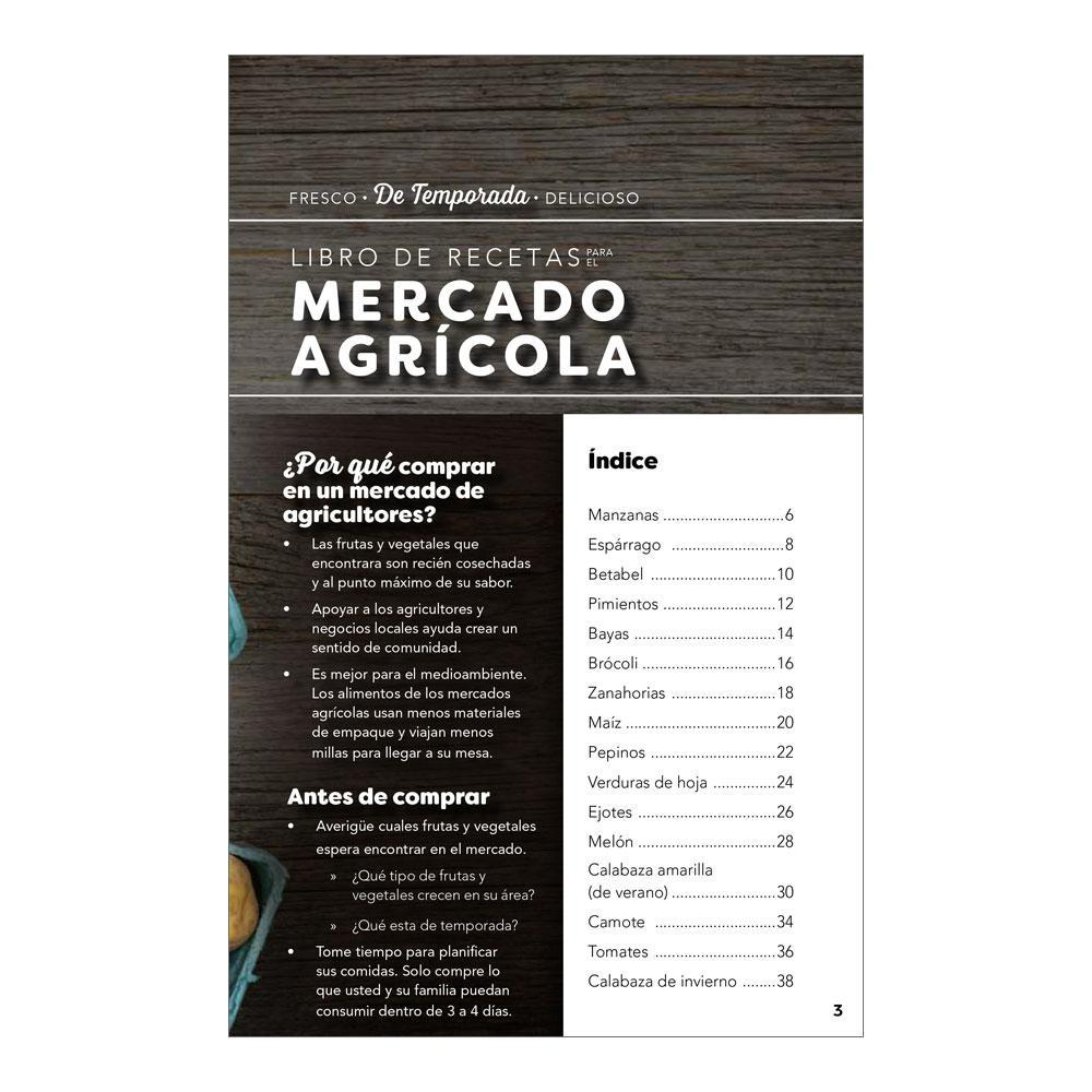 Farmers Market Spanish Cookbook