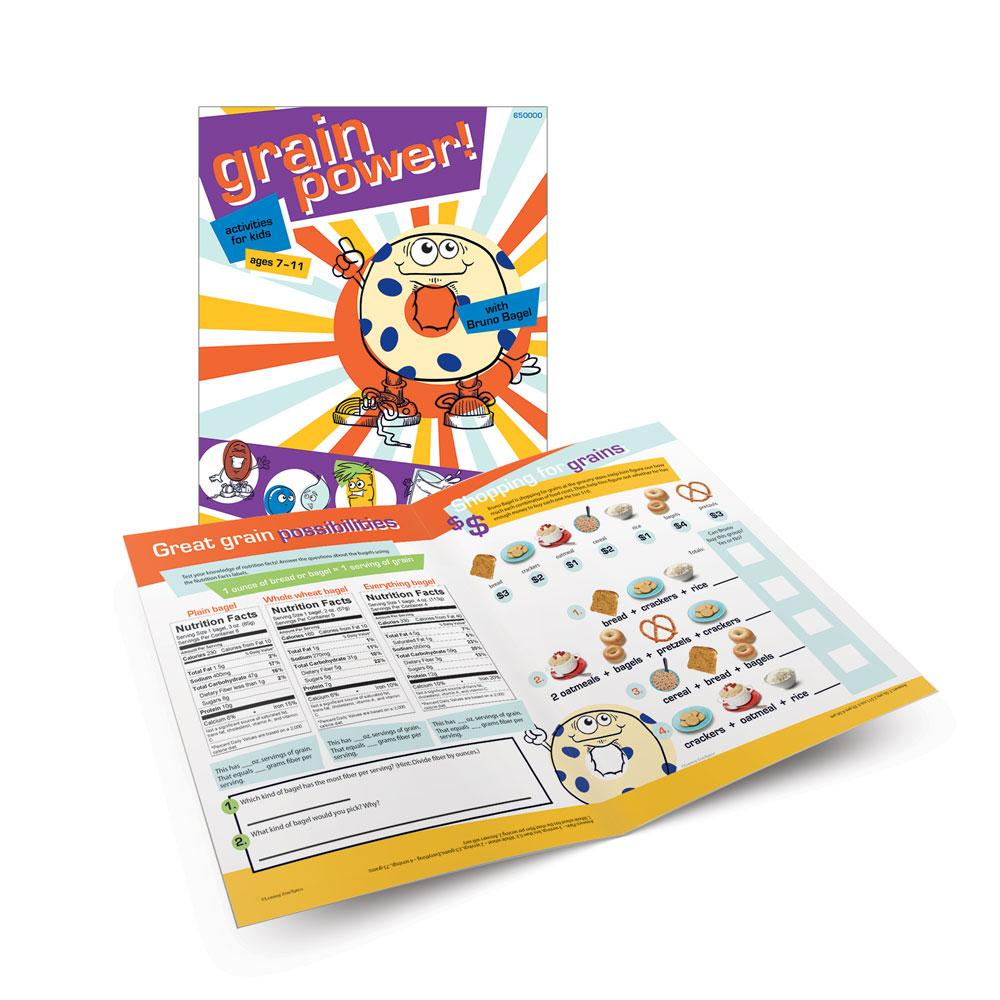 Grain Power! Activity Book for Kids 7 - 11