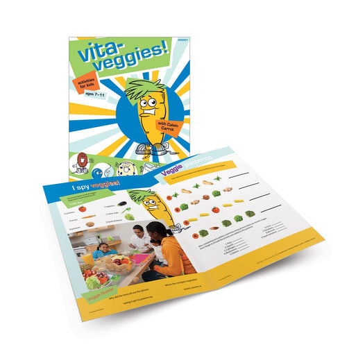 Vita-Veggies! Activity Book for Ages 7-11