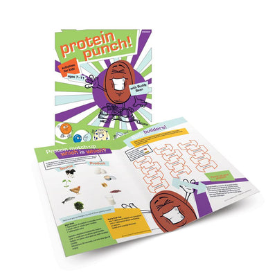 Protein Punch! Activity Book for Ages 7-11