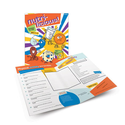 Nutri-Licious! Activity Book for Ages 7-11