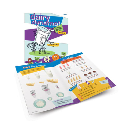 Dairy Dynamo! Activity Book for Ages 3-6