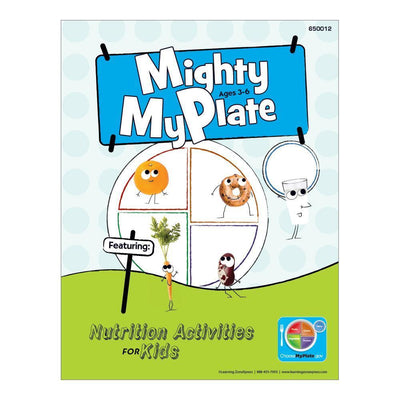 Mighty MyPlate Activity Books  for  Ages 3-6