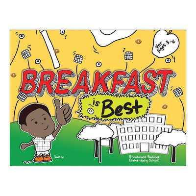 Breakfast is Best Activity Book (Ages 3-6)