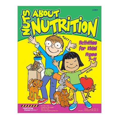 Nutrition Activity Book | Nuts