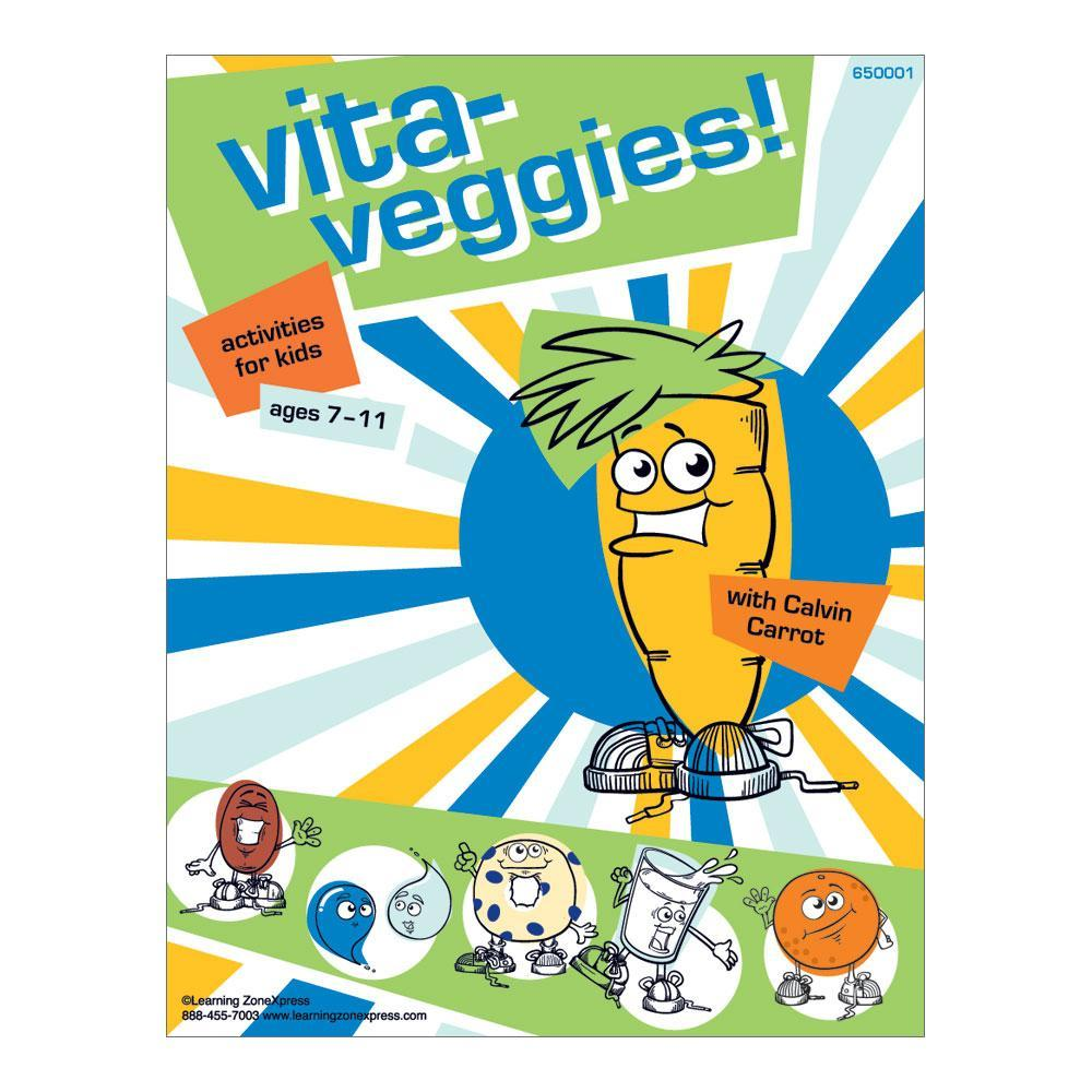 Nutrition Activity Book | Veggies