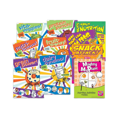 Nutrition Activity Book Sampler Set