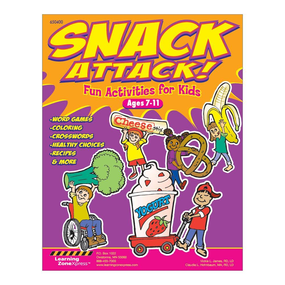Nutrition Activity Book | Snacks