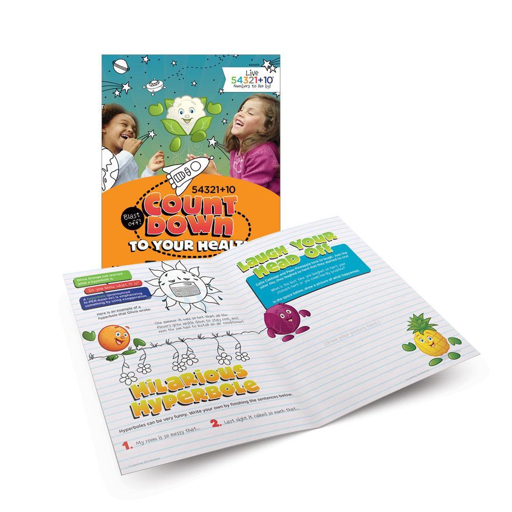 Live 54321+10® Good Laughs Activity Books