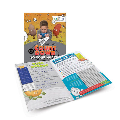 Live 54321+10® Screen Time Activity Books