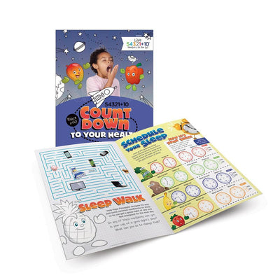 Live 54321+10® Sleep Activity Books