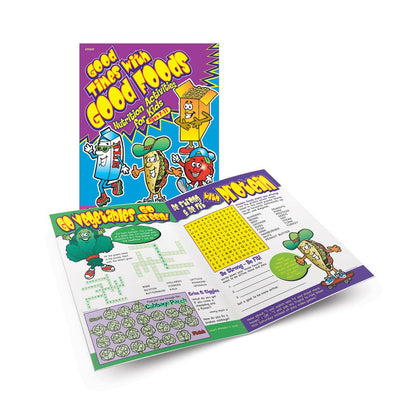 Good Times with Good Foods Activity Book